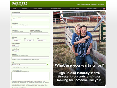 gay farmers dating website They say opposites attract opposites do attract and a lot of times it's fun but you can waste a lot of time searching or dating somebody opposite, jerry miller, the creator of the farmers only dating site, told vox.